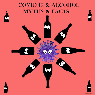COVID-19 and ALCOHOL MYTHS and FACTS by ©LeDomduVin 2020