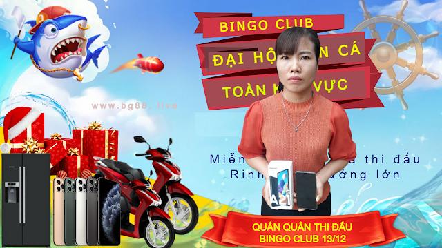 NỮ GAME THỦ NHIỀU LẦN CHINH PHỤC GIẢI ĐẤU BINGO CLUB