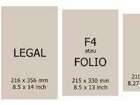 Mengetahui Perbedaan Ukuran Kertas