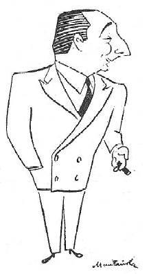 Caricatura de Agustín Pujol Sevil