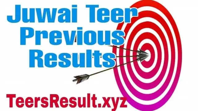 Juwai Teer  Previous Results