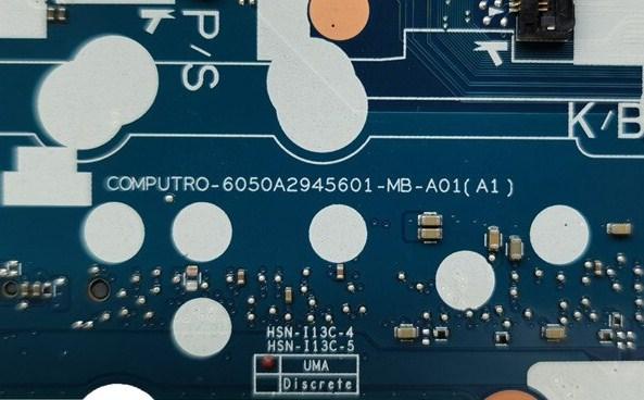 6050a2945601-mb-a01 Computro HP EliteBook 840 G5 Bios