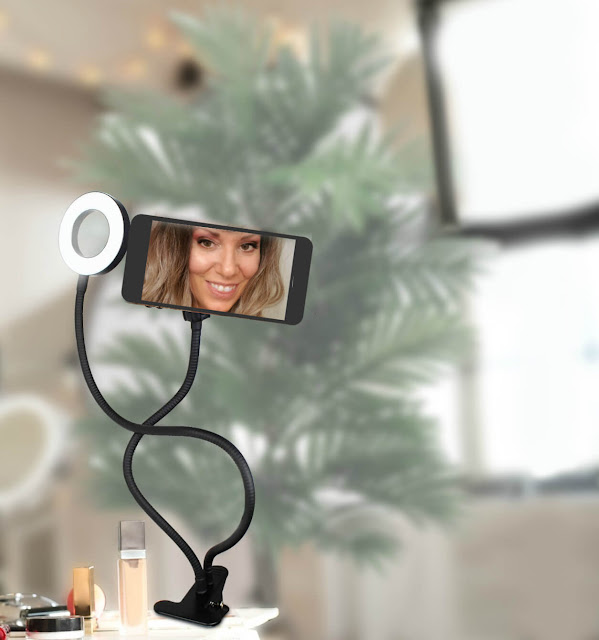 Best Selfie Ring Light With Cell Phone Holder By Barbies Beauty Bits