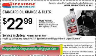 Free Printable Firestone Coupons