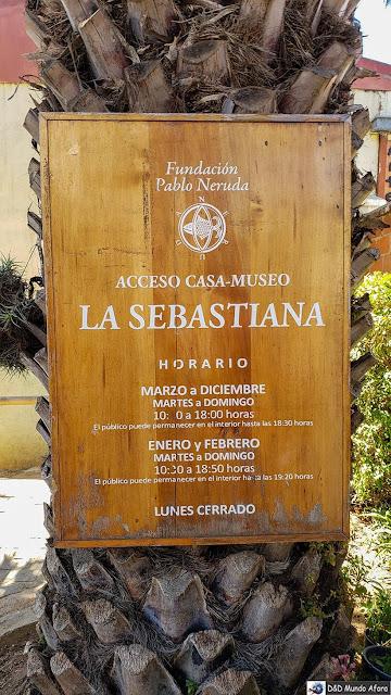 Funcionamento do Museu Casa de Pablo Neruda em Valparaíso - Diário de Bordo Chile: 8 dias em Santiago e arredores