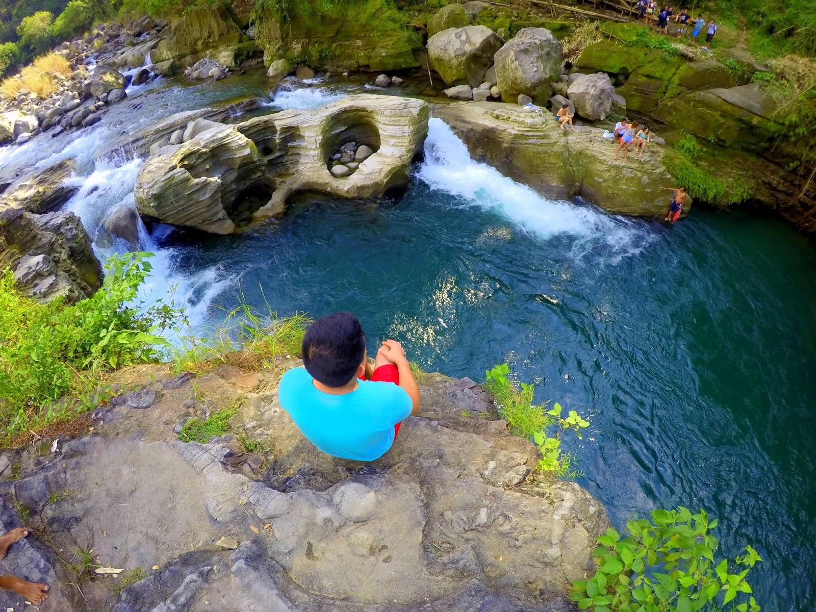 Cliff Diving Spot Tangadan Falls