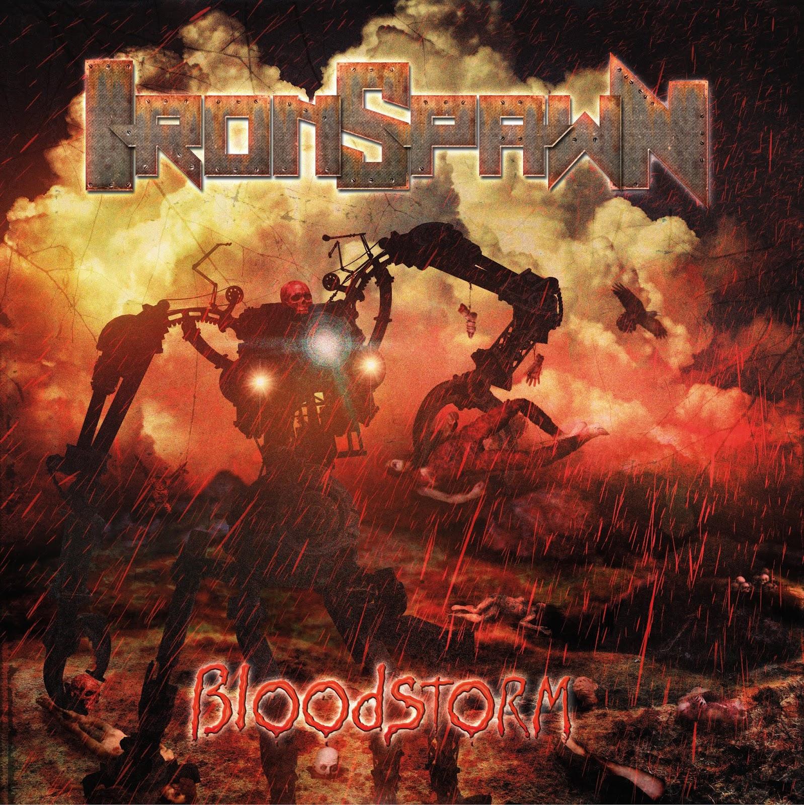 Último álbum de Iron Spawn del guitarrista Dani Ríos de Zaragoza