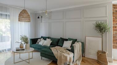 Cómo decorar con molduras y zócalos para sumar estilo a tu casa