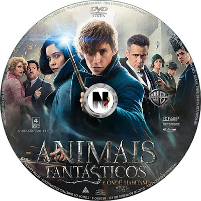 Resultado de imagem para animais fantásticos e onde habitam capa dvd