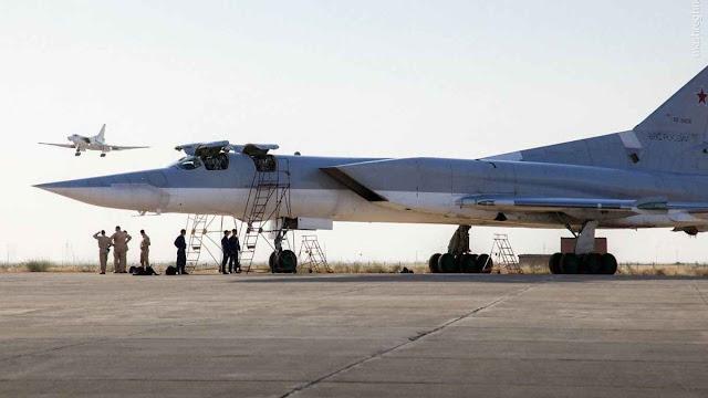Tupolev Tu-22M Backfire: embora antigos,a Rússia estaria usando na Síria.