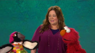 The Choreographer word is presented by Elmo and Melissa McCarthy in the word of the day section. Sesame Street The Best of Elmo 3