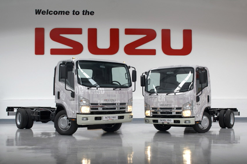 new parts and service dealer for isuzu truck in gloucestershire
