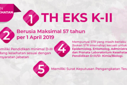 Syarat Pendaftaran Dan Administrasi Berkas Untuk Mengikuti Tes Menjadi P3K 2019 Lengkap
