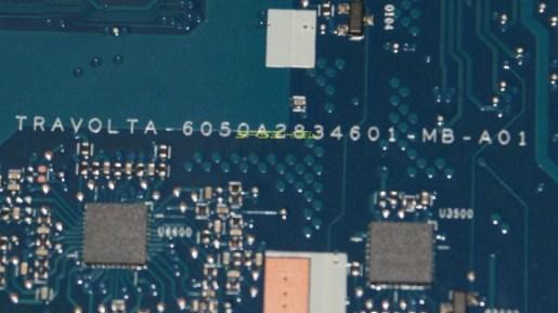 6050A2834601 MB A01 TRAVOLTA HP EliteBook 745 G4 Bios