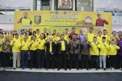 Gubernur Arinal Dukung Formi Lampung Memasyarakatkan Olahraga