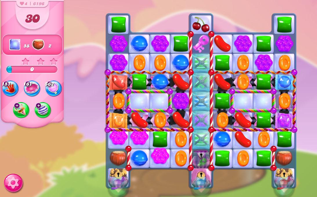 Candy Crush Saga level 6196