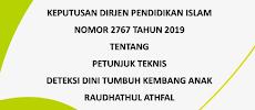 Download Juknis Deteksi Dini Tumbuh Kembang Anak RA 2019 (SK Ditjen Pendis No. 2767 Tahun 2019)
