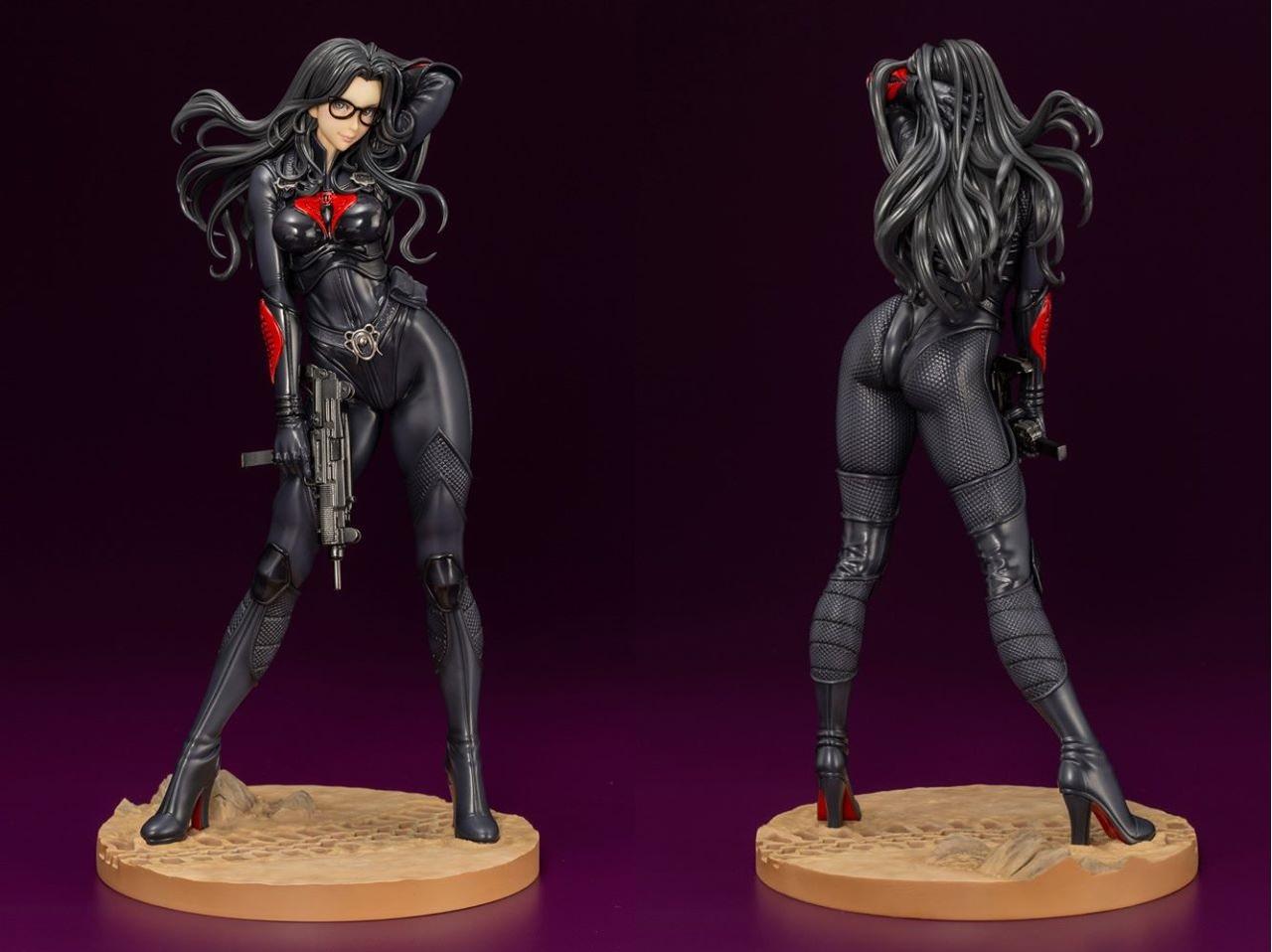 G.I Joe A Real American Hero Cobra Enemy Baroness Bishoujo Statue by Kotobukiya