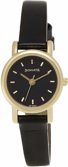 Sonata NF8976YL03CJ Analog Watch