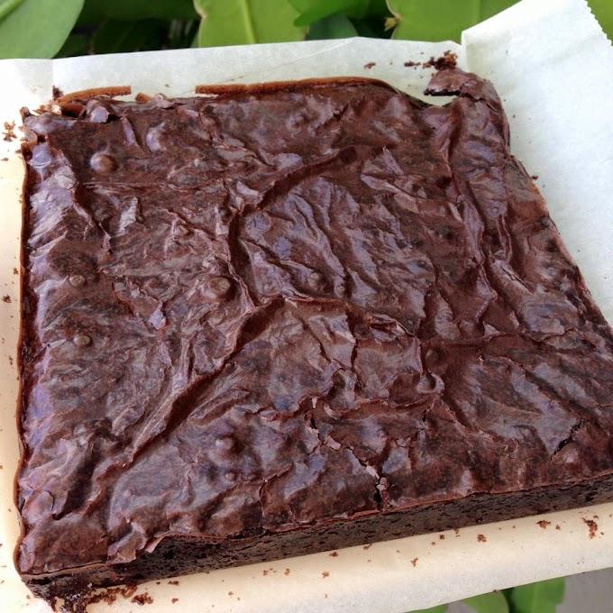 Cara buat brownies step by step dengan gambar