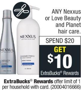 FREE Nexxus Treatment CVS Deal 9-29-10-5