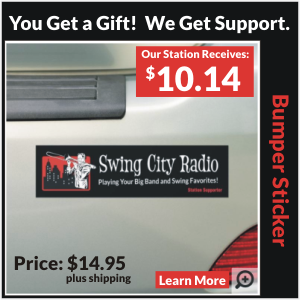 Swing City Radio Bumper Sticker