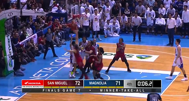 San Miguel def. Magnolia, 72-71 (REPLAY VIDEO) Finals Game 7 | PBA Philippine Cup Champions