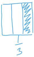 pecahan 1 per 3 persegi www.simplenews.me
