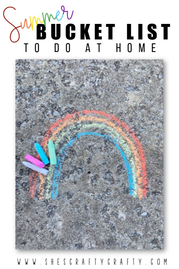 Summer Bucket List of Ideas to do at Home   |   She's Crafty