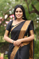 Poorna in Cute Backless Choli Saree Stunning Beauty at Avantika Movie platinum Disc Function ~  Exclusive 136.JPG