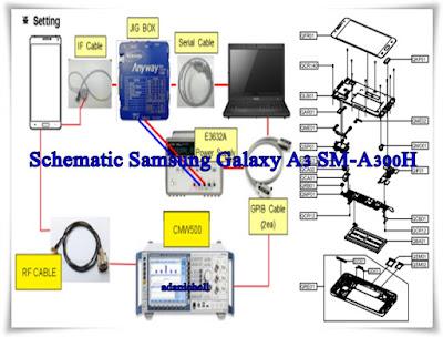 Schematic Samsung Galaxy A3 SM-A300H