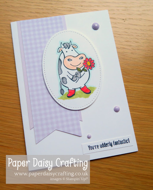 Over the Moon Paper Daisy Crafting Stampin Up