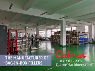 Factory Shot 4 of Bag-in-Box Filler Manufacturer - Calmus Machinery
