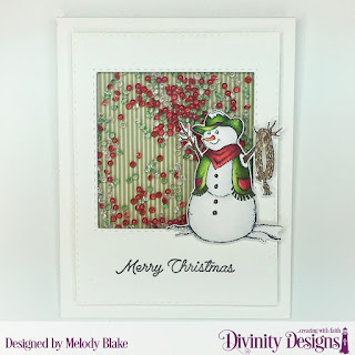 Stamp/Die Duos: Country Christmas, Custom Dies: Double Stitched Rectangles, Double Stitched Squares, Paper Collection: Christmas Coordinating 2015