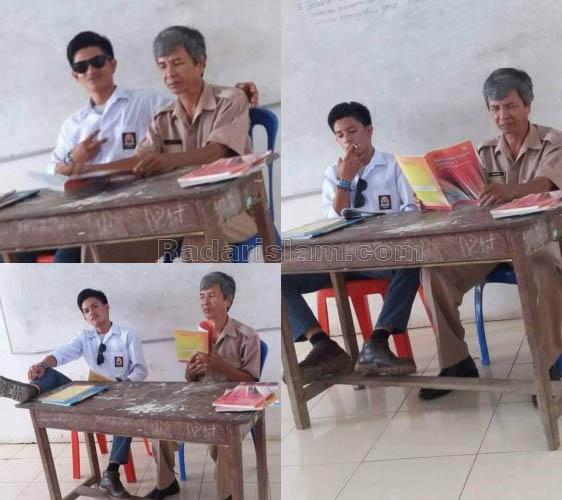 Foto-foto Tak Sopan Siswa SMA Ini Jadi Viral di Sosmed