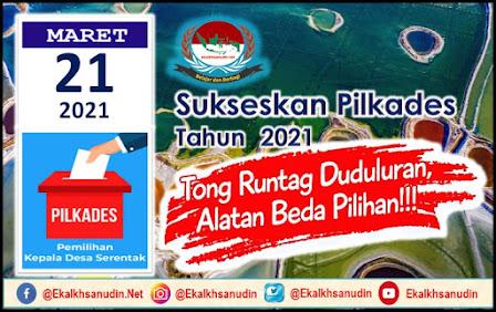 Sukseskan Pilkades Karawang 2021