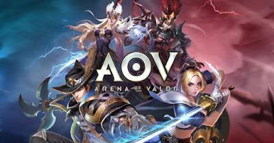 Download Garena AOV - Arena Of Valor Apk + Data Terbaru For Android