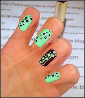 bakłażanowe paznokcie