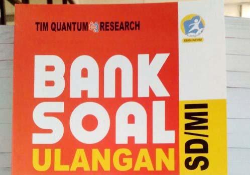 Bank Soal kelas 3 SD K13: Bahasa Indonesia, Matematika dan IPA