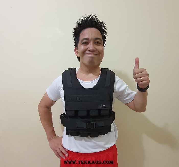 Adjustable Weighted Vest Exercise Workout
