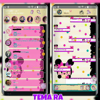 Minnie Mouse Theme For YOWhatsApp & RA WhatsApp By Ale