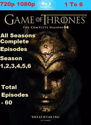 Game of Thrones All 1-6 Season Complete Bluray 720p 1080p ...