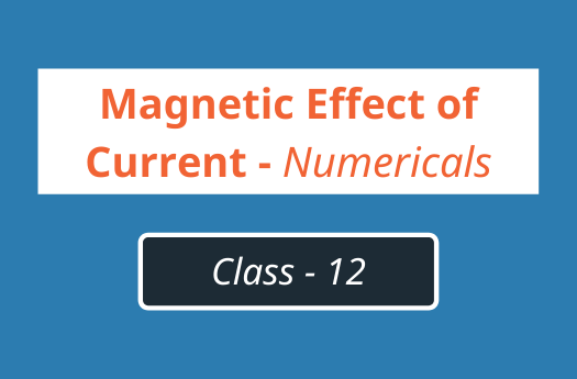 Magnetic Effect of Current Numericals | Class 11 Physics