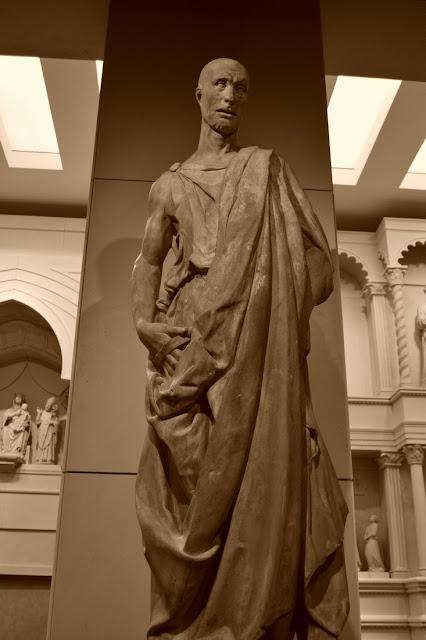 Donatello - prophète Habacuc, 1423