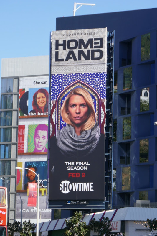 Homeland final season 8 billboard