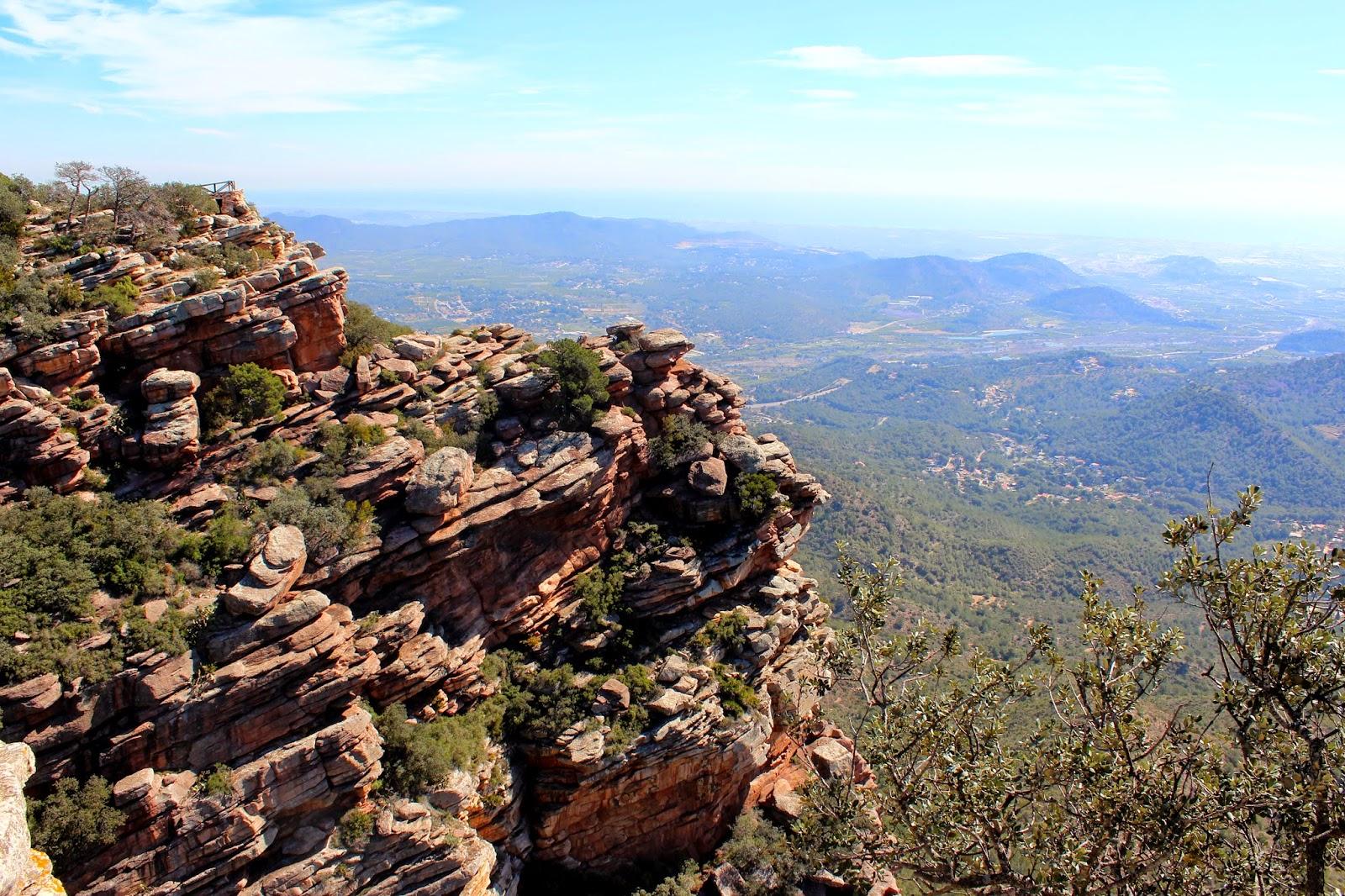 Vistas desde el Garbi-Sagunto