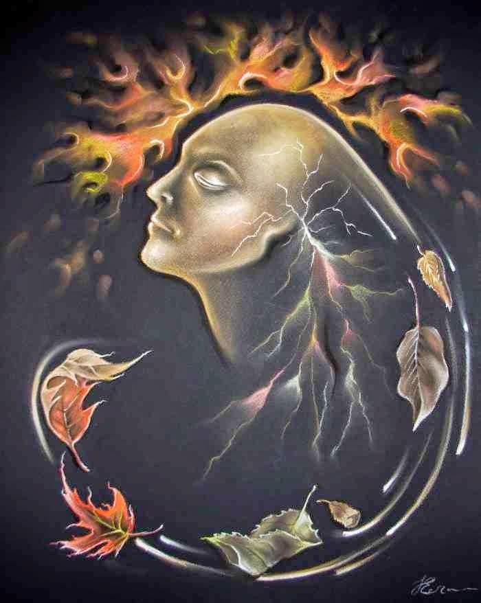 Украинская художница. Дунева Елена