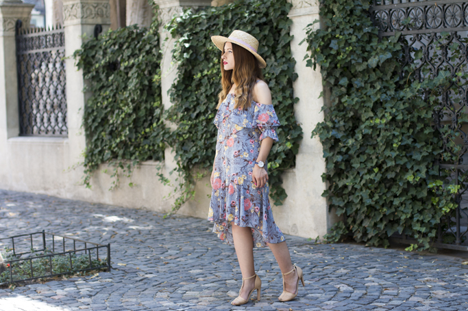 adina nanes how to wear the floral dress