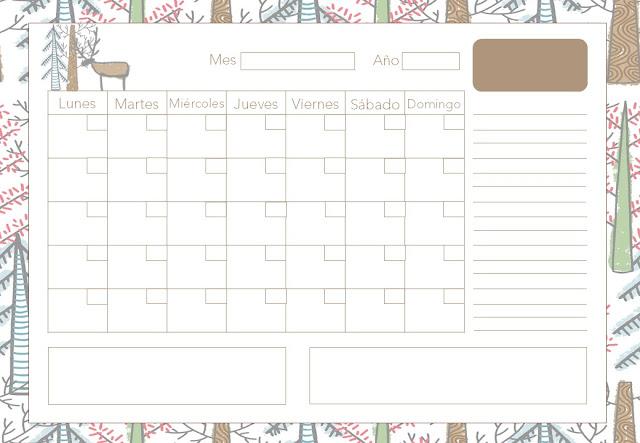 calendario, gratis, descargar, a4, pdf, imprimir, imprimibles