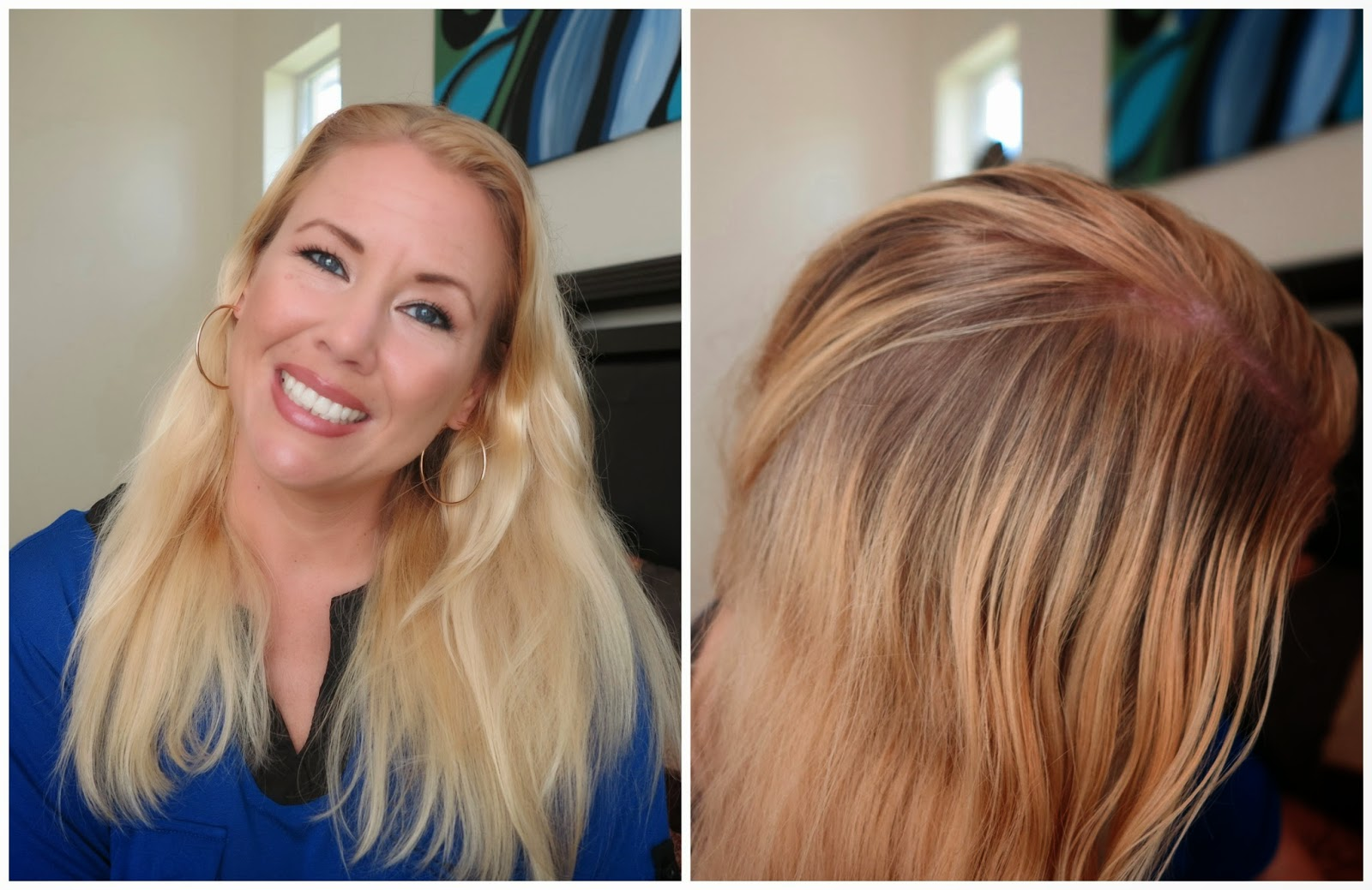 Shea Moisture Hair Color review /Light blonde